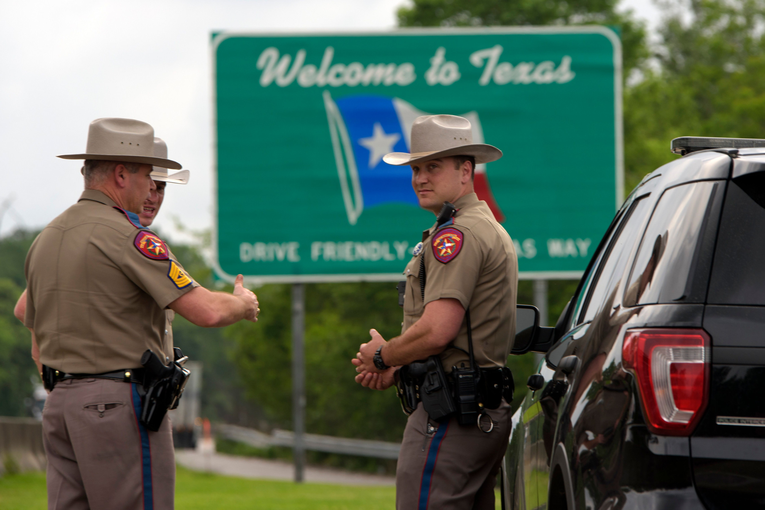 Texas State Trooper Chad Walker, Shot During a Traffic ...