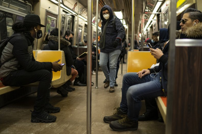 asian subway attack new york city choke