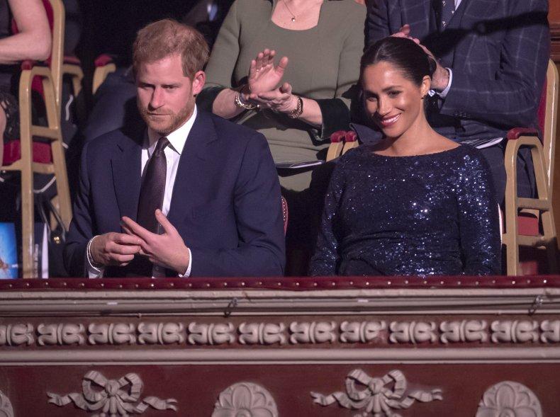 Prince Harry, Meghan Markle at Albert Hall