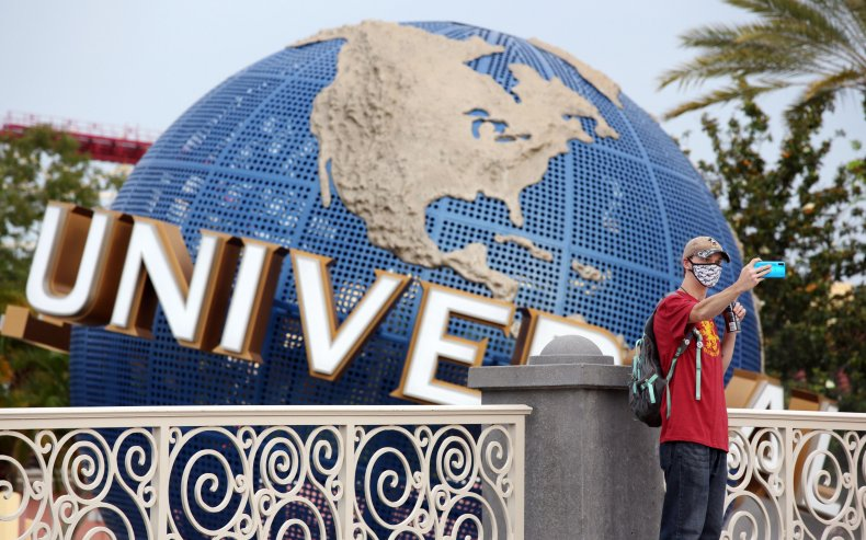 Universal Studios Tourist