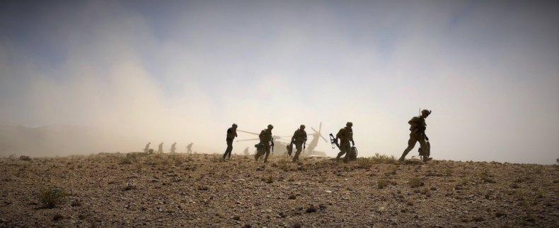 afghanistan, us, military, blackhawk, dismount