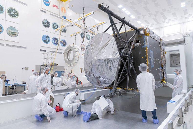 NASA Psyche spacecraft