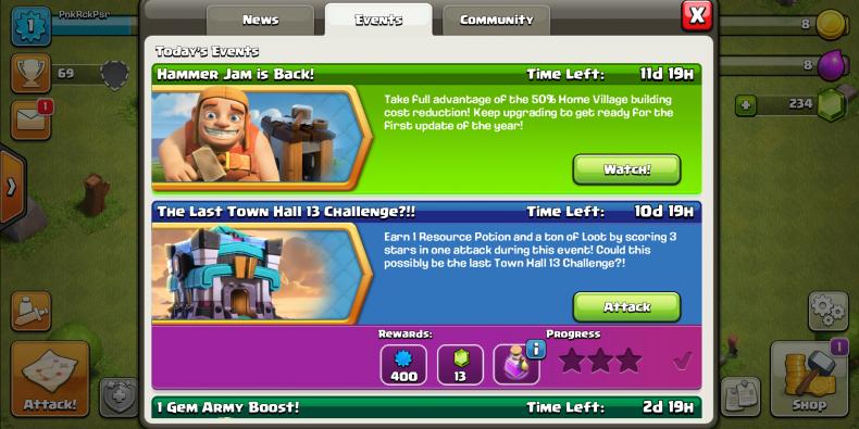 clash clans coc hammer jam explained