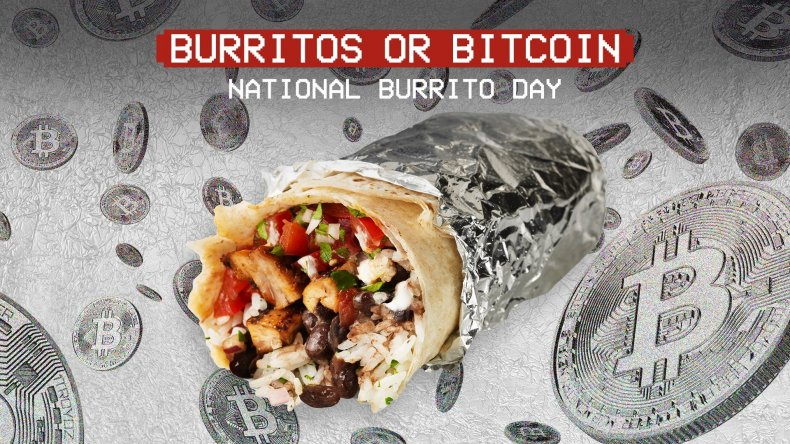 Chipotle National Burrito Day Bitcoin Deal