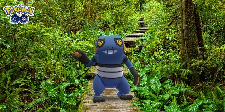 pokemon go april fools event 2021 croagunk