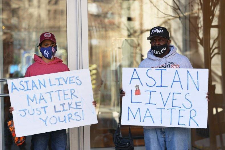 NYC protest against anti-Asian hate crime