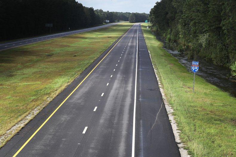 Interstate 95, North Carolina, Crash