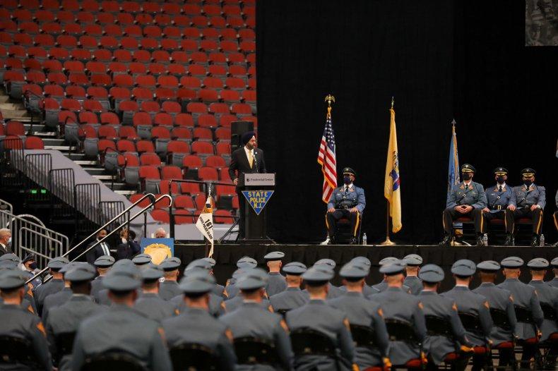 new, jersey, state, police, graduation, ceremony