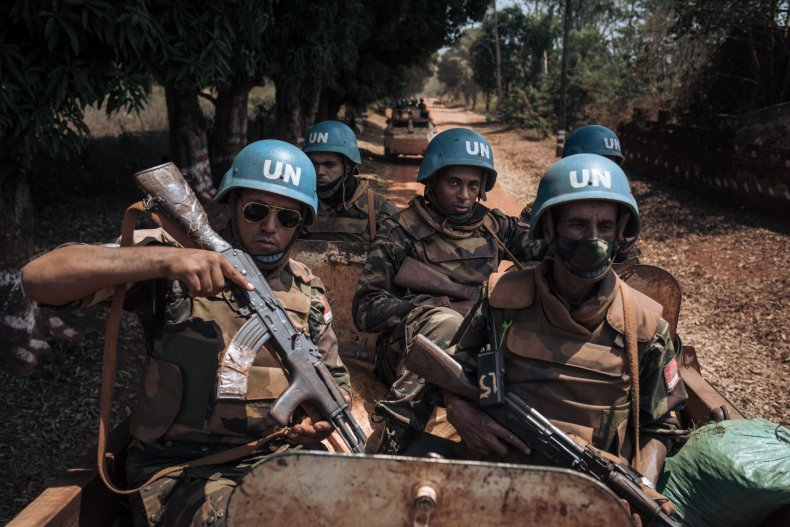 central, africa, republic, united, nations, peacekeepers