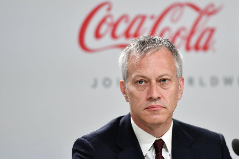 Coca Cola CEO James Quincey