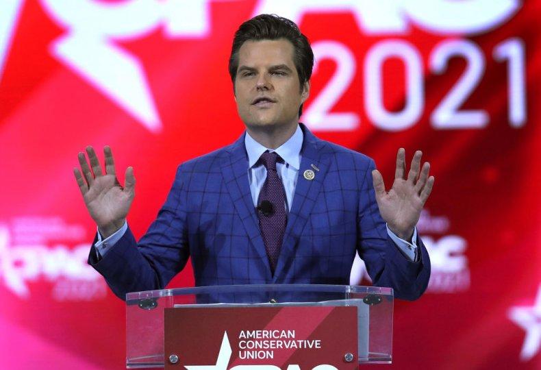 GOP Rep. Matt Gaetz of Florida