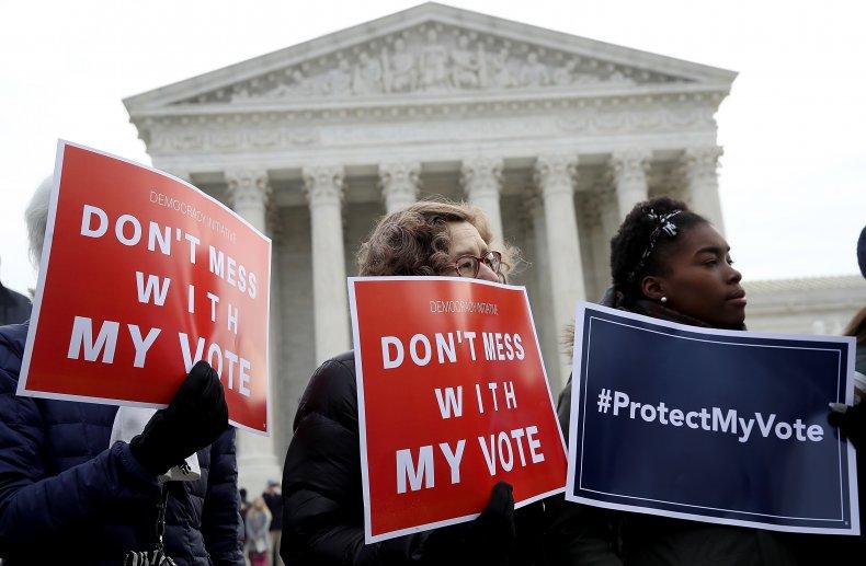 protect my vote protest SCOTUS