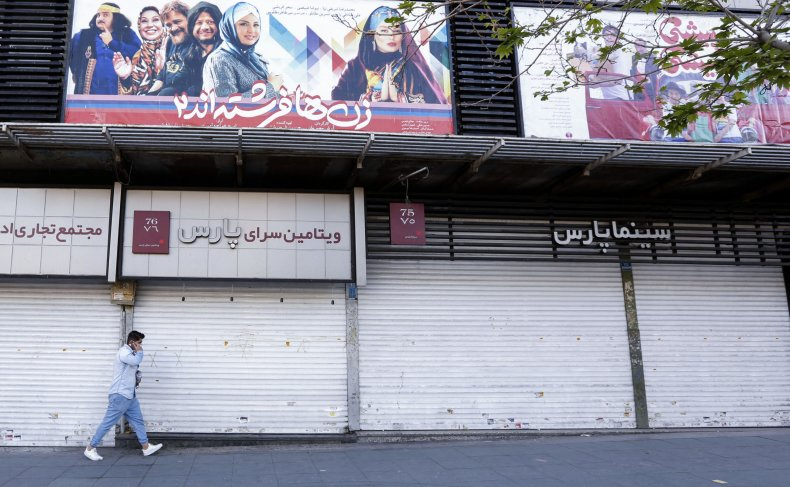 iran, cinema, covid-19, lockdown