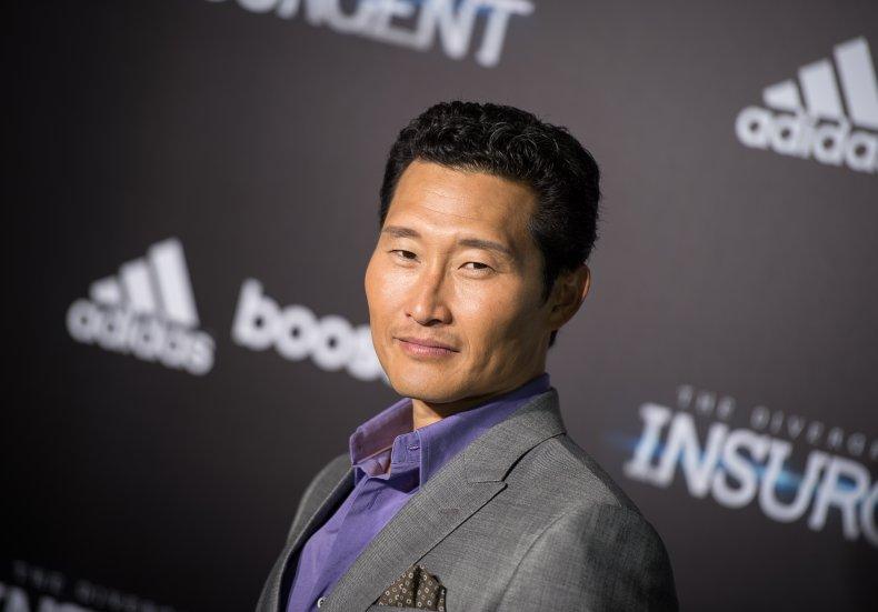 Daniel Dae Kim at Divergent premiere