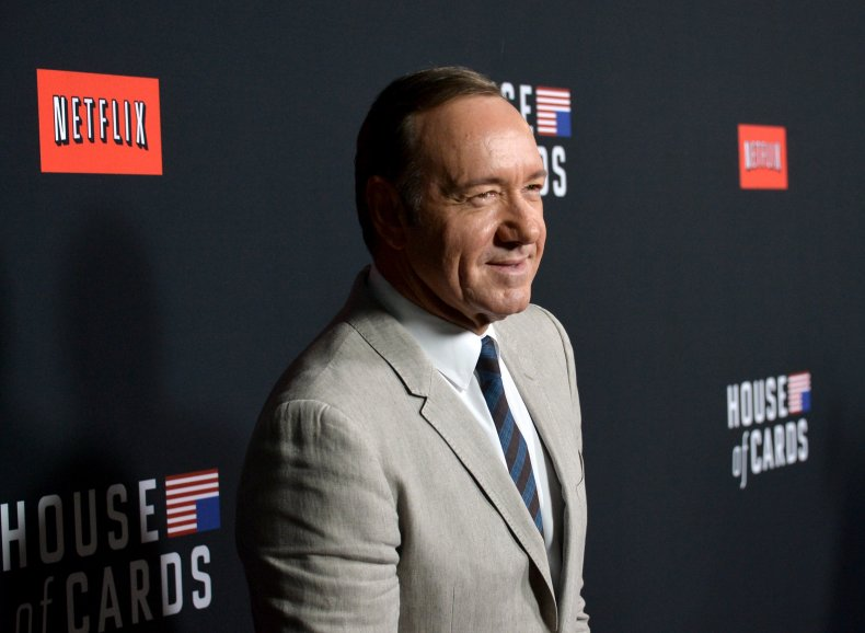 Kevin Spacey at House of Cards screening