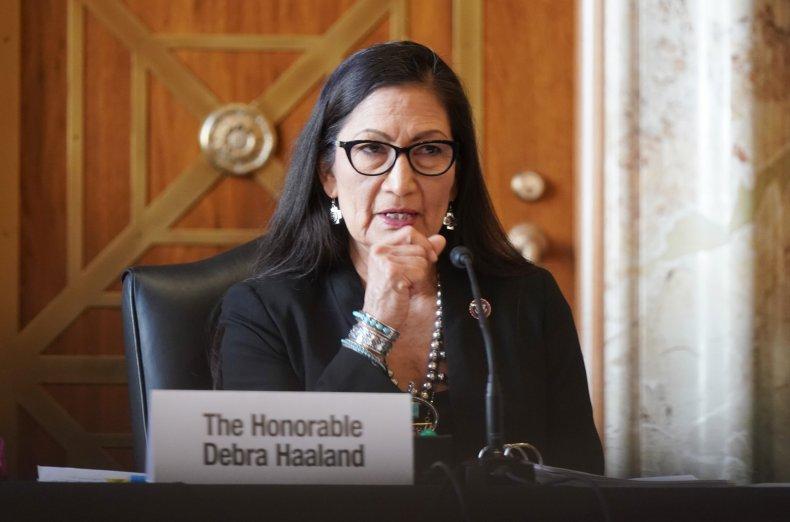 Deb Haaland Native American Missing Murdered Unit