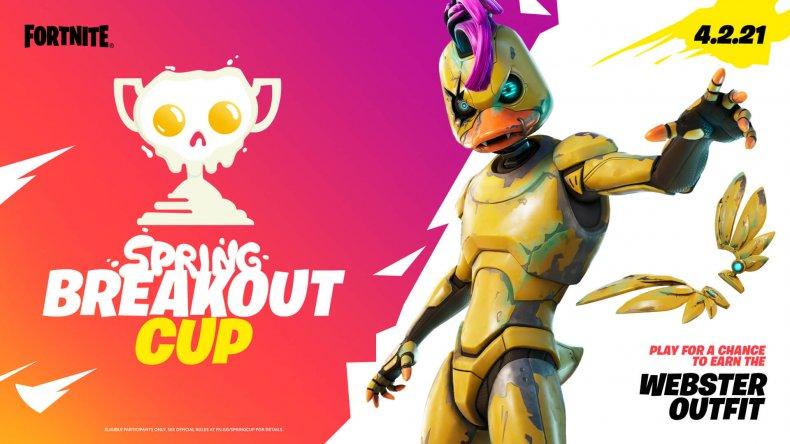 fortnite spring breakout cup start time webster