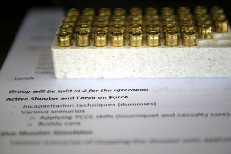 Active shooter training materials in Colorado