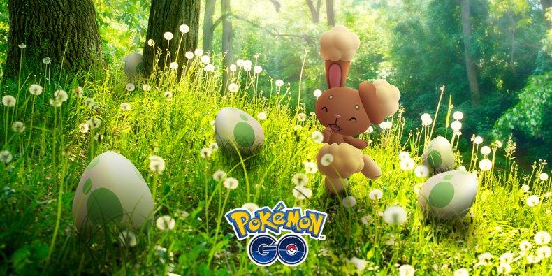 pokemon go spring easter 2021 event