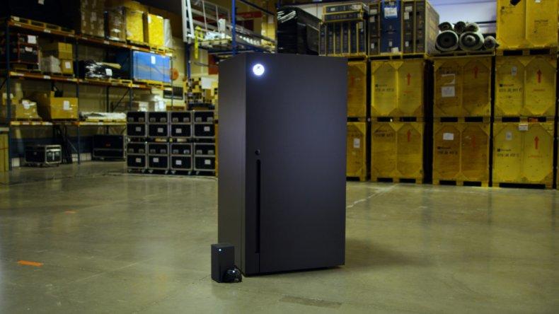 xbox series x fridge console