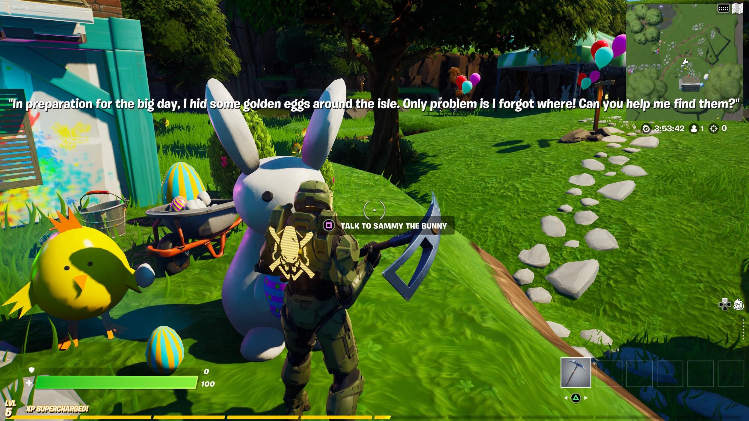 'Fortnite' Creative Hub Easter Egg Hunt Guide: All 5 Golden Egg Locations