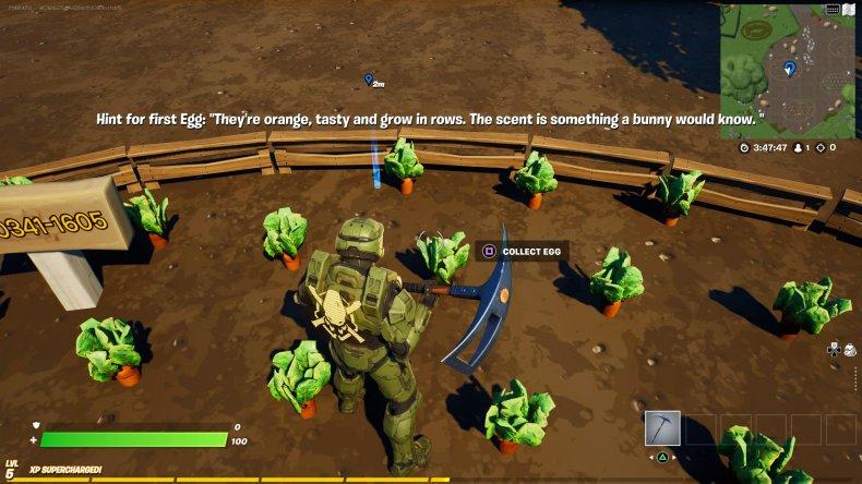 fortnite creative egg hunt location 1 gameplay