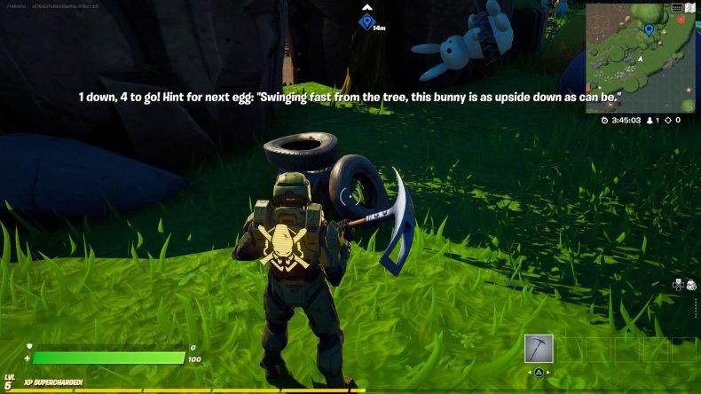 fortnite creative egg hunt location 2 tire