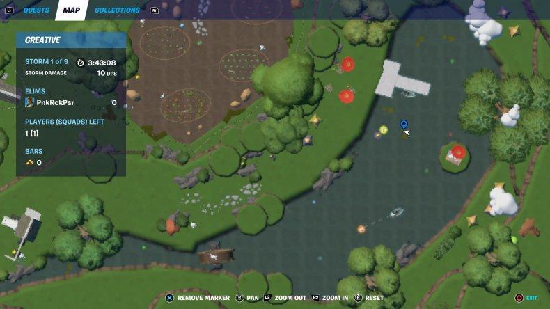 fortnite creative egg hunt location 3 map