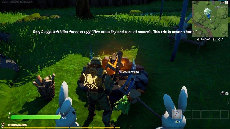 fortnite creative egg hunt location 4 gameplay