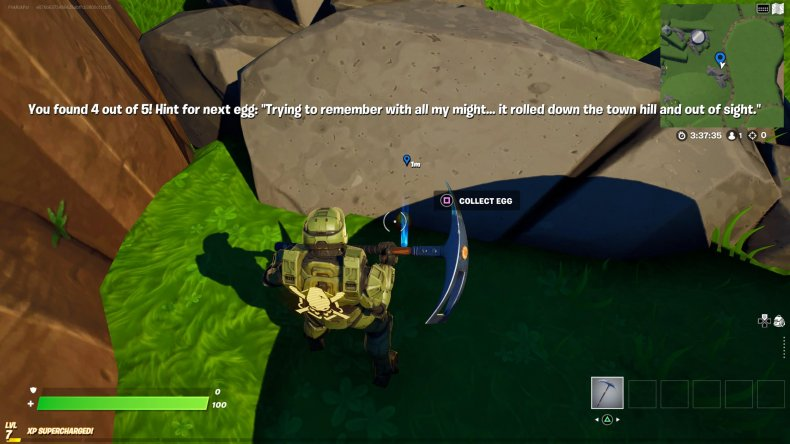 fortnite creative egg hunt location 5 gameplay