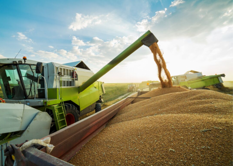 The invention of the wheat combine in 1934 changed farming forever