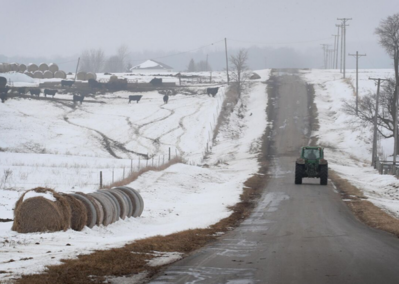 Most farmers need outside work to make ends meet