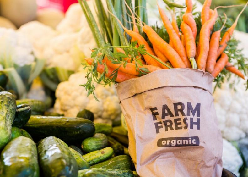 Less than 1% of US farmland is organic