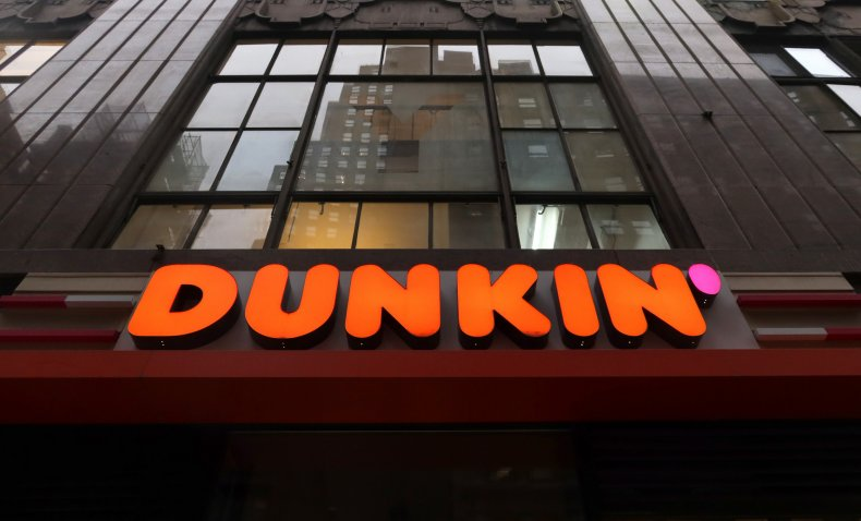 Dunkin' Sign