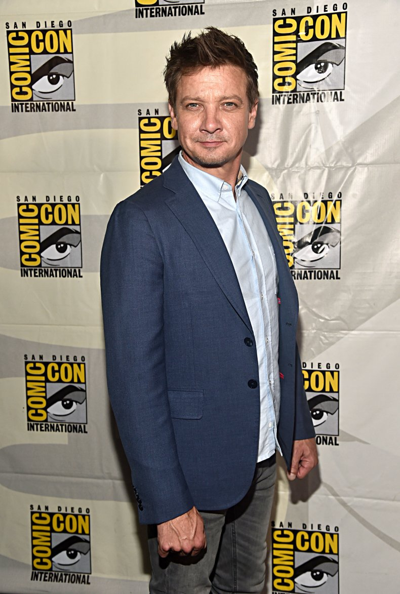 Jeremy Renner at Comic-Con