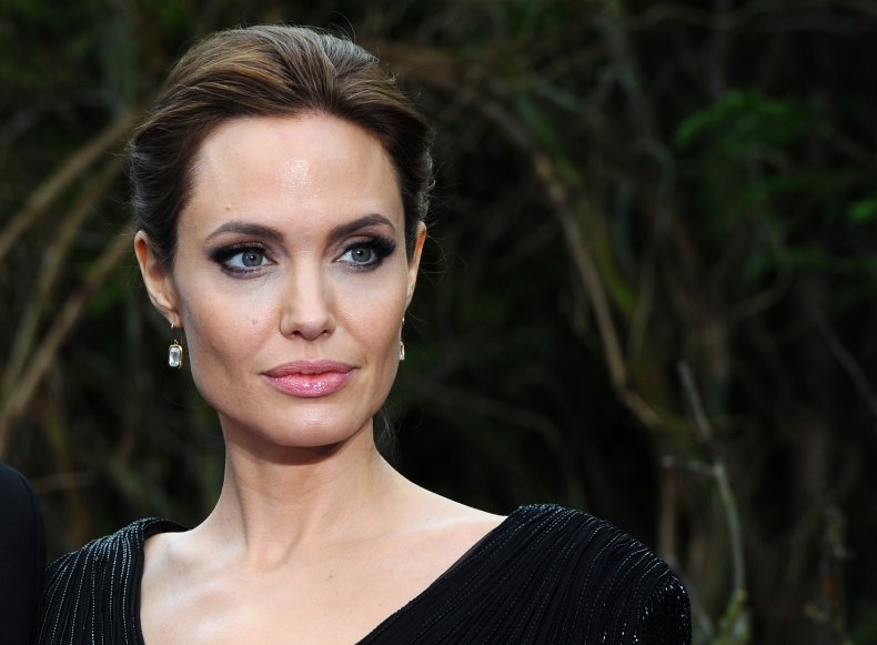 Angelina Jolie at Kensington Palace event