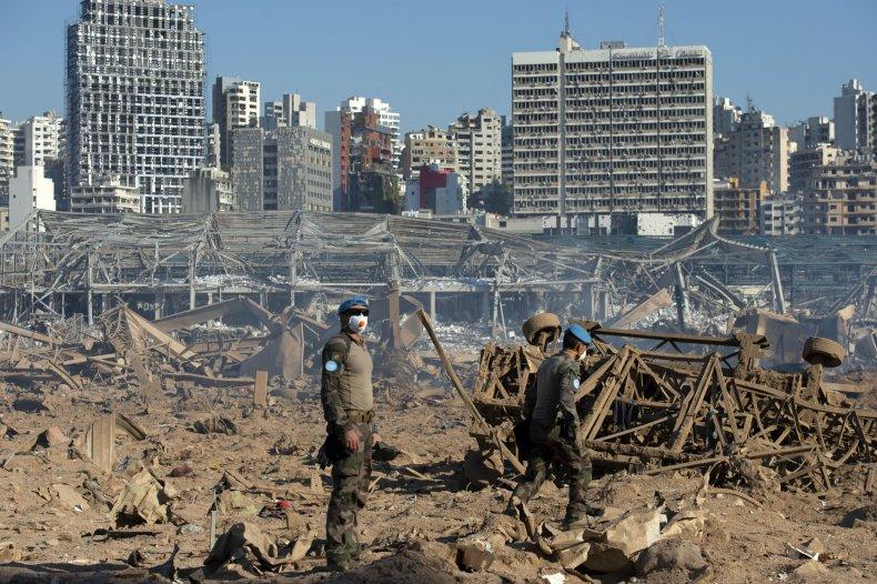 united, nations, beirut, lebanon, port, explosion