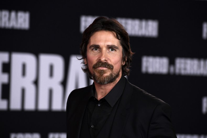 Christian Bale at Ford vs Ferrari screening
