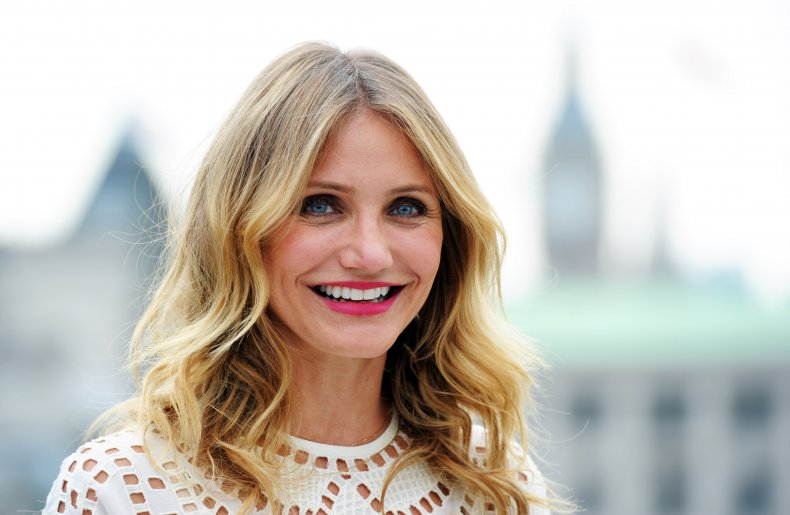 Cameron Diaz at Sex Tape photocall