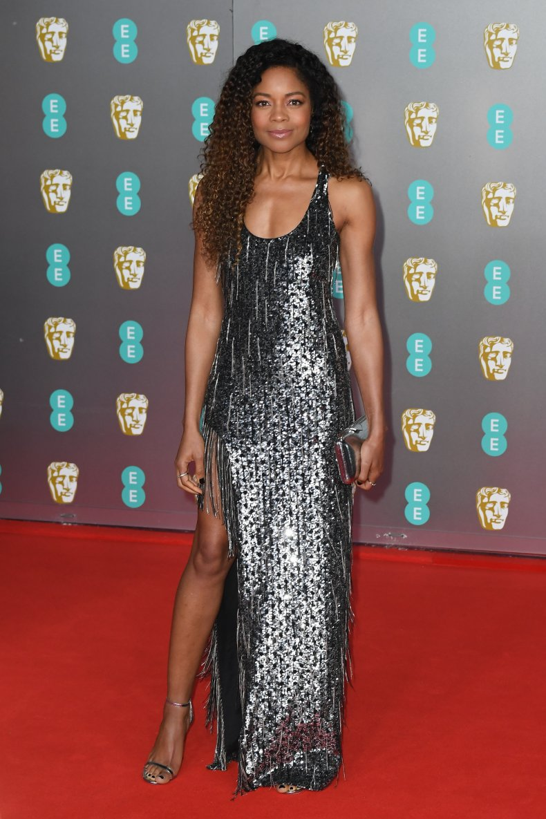 Naomie Harris at BAFTAs