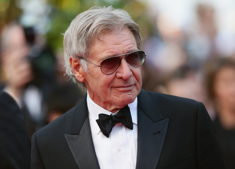 Harrison Ford at Cannes Film Festival