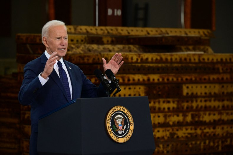 Joe Biden infrastructure bill