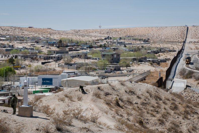Border in New Mexico