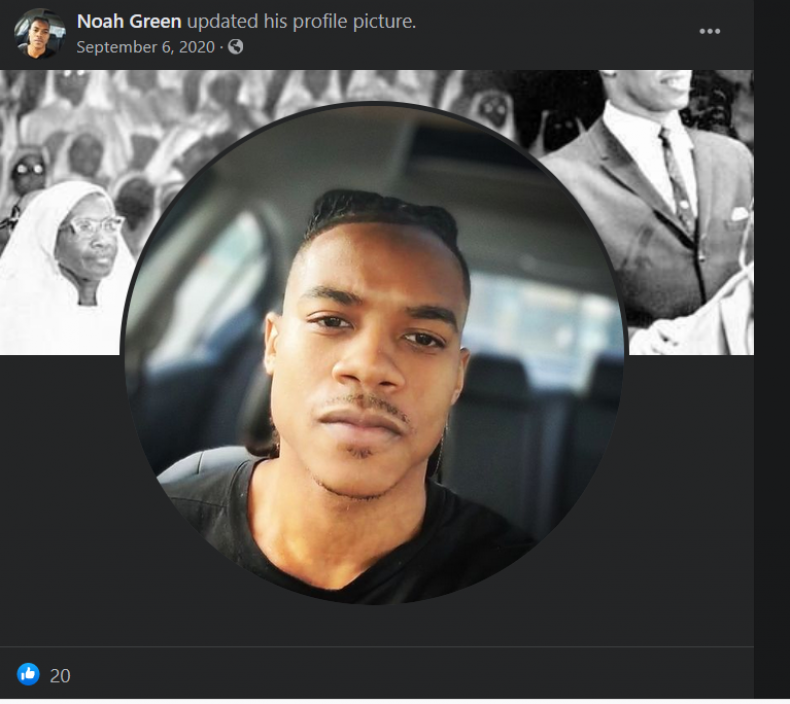 Noah Green Capitol Police Attack Facebook