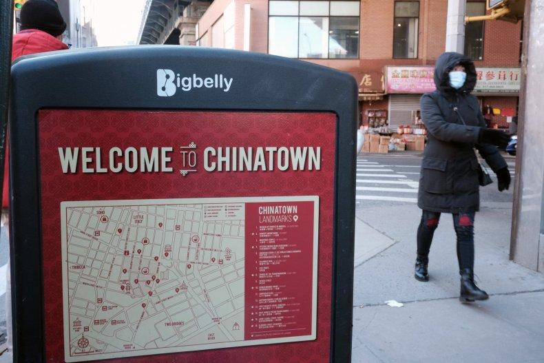 Asian American SafeWalks New York City Hate