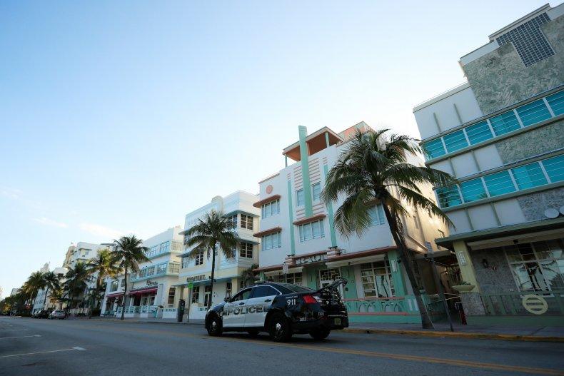 Miami Beach Florida April 2020
