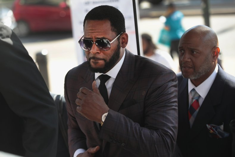 R. Kelly Arrives at Court in 2019