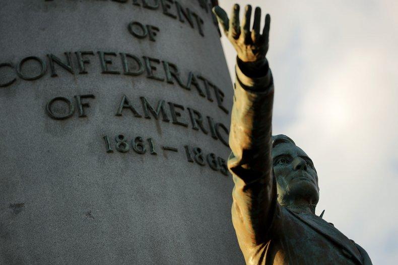 Jefferson Davis Chair Toilet Ransom Confederate Monument