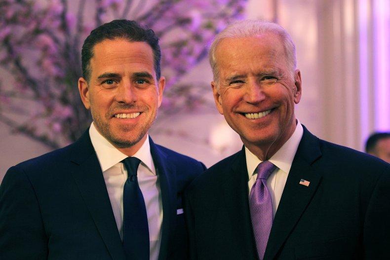 President Biden and Hunter Biden in 2016