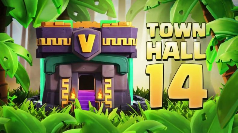 clash of clans town hall 14